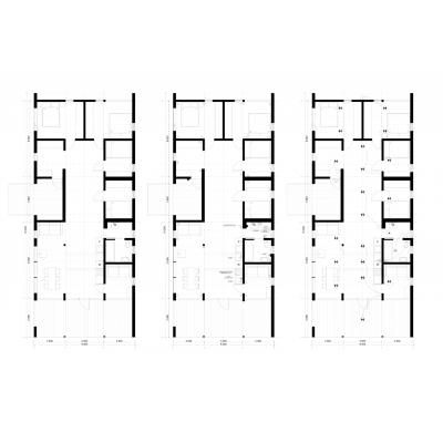 Modulárny dom 5-izbový plán poschodia