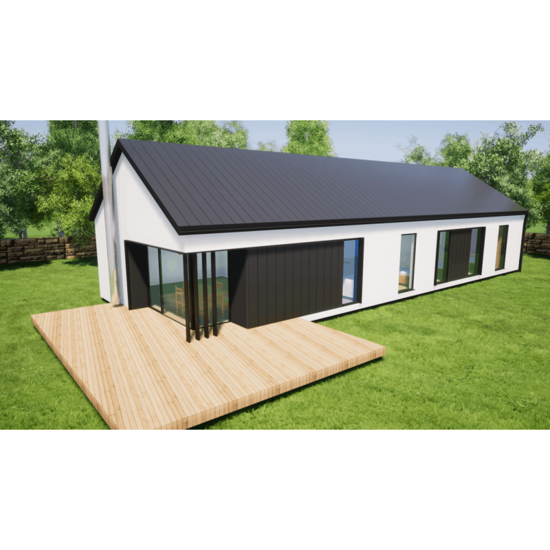 Modulárny dom 5-izbový