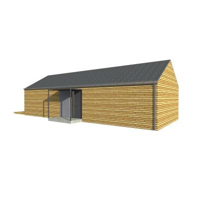Modulový dom 3-izbový